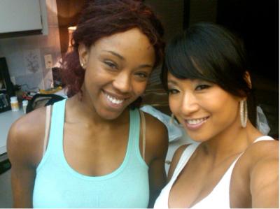Alicia & Gail Kim
