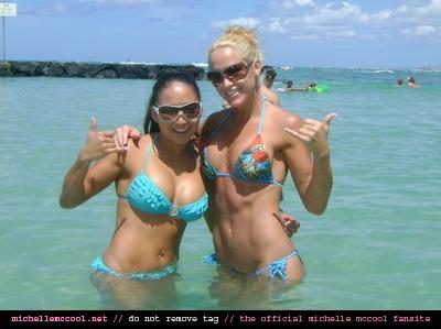 Gail Kim & Michelle