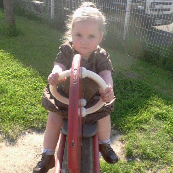 mon bebe qui joue au parc
