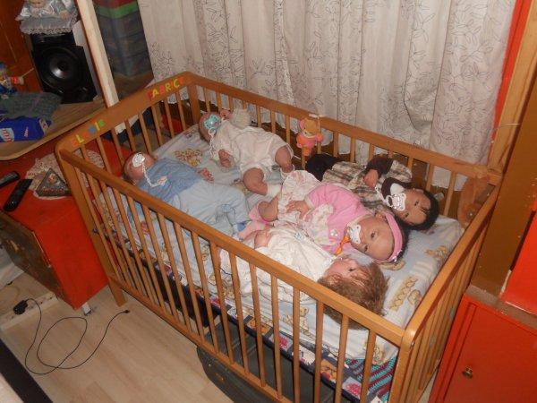 repos des 5 bébé