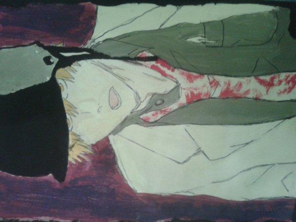Bah....voici un dessin de bleach que j'adore, j'ai eu beaucoup de mal à le faire