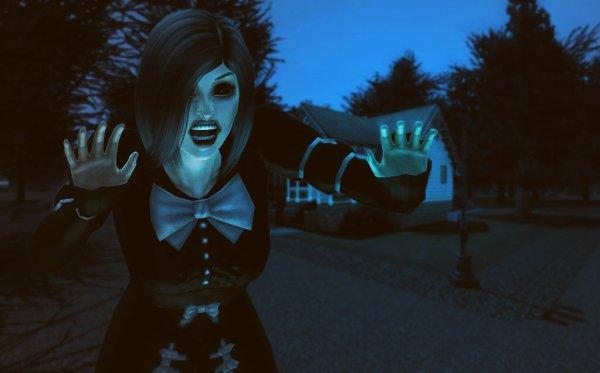 Oxana Azarov vous souhaite un joyeux Halloween !