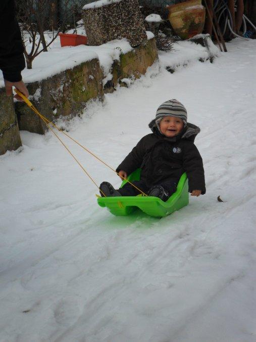 ..:: Mon fils dans la neige ::..