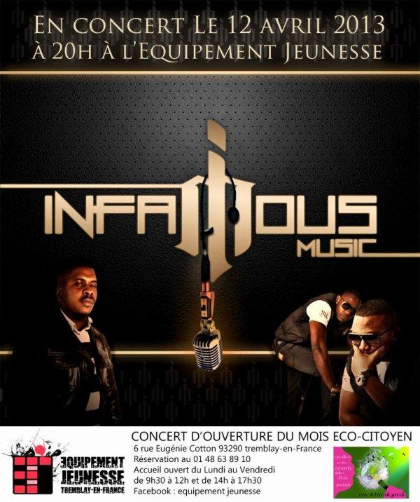 concert imfamous