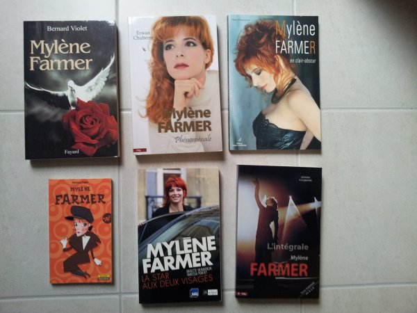 Ouvrages/livres Mylène farmer
