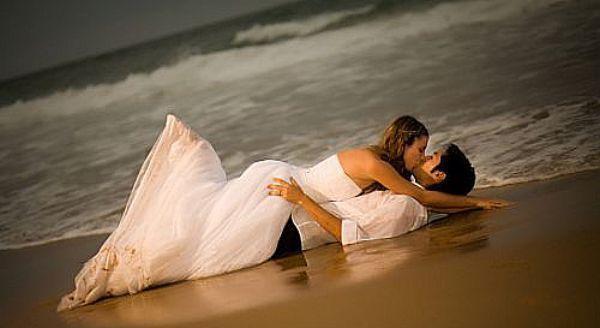 marier a la plage