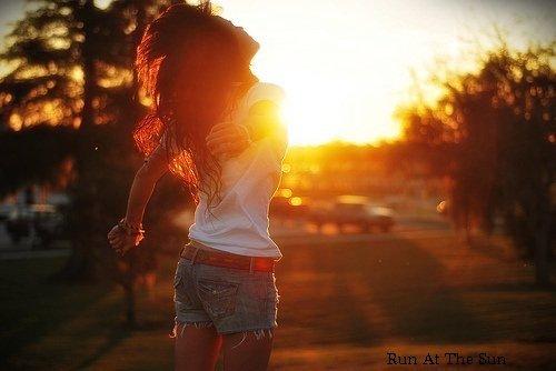 Run At The Sun !