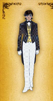 Gankutsuou - personnage 1