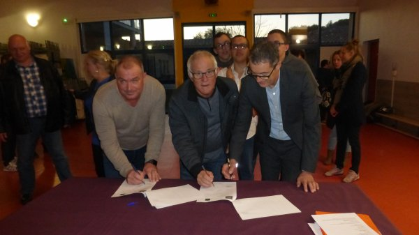 MERCREDI 15 NOVEMBRE ANIMATION TANDEM ET SIGNATURE DE LA 6° CONVENTION DE PARTENARIAT