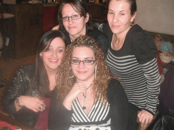 Resto avec les filles de la formation!!!