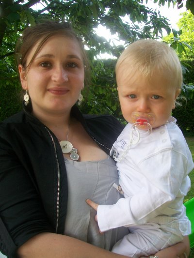 Baptême de mon neveu Nathan