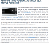 XBOX ONE: UNE VERSION SANS KINECT DEJA PREVUE POUR 2014 ?
