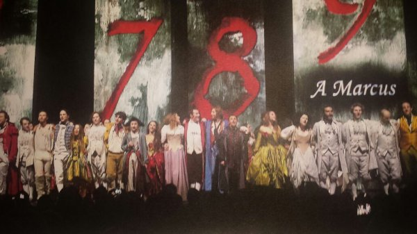1789, Les amants de la bastille : le meilleur spectacle musical ❤