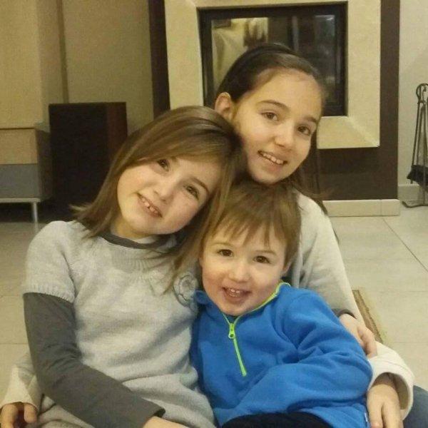 ma nièce, ma filleule et mon neveu