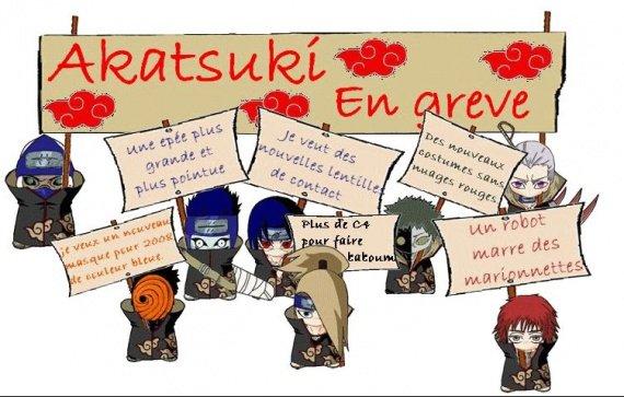 Quelque images de l'akatsuki