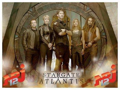 Stargate Atlantis est rediffusé actuellement sur NRJ12
