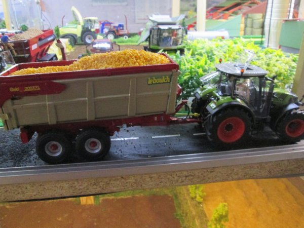 le convoi de maïs grain
