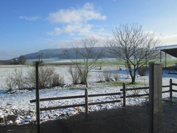 vue de ma terrasse ce matin