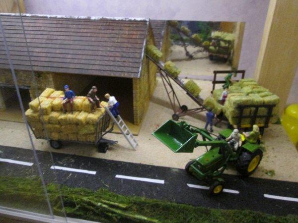 les travaux à la grange