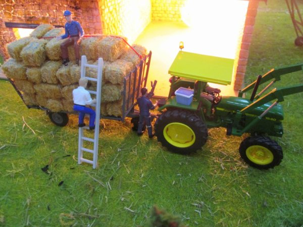 scène à la grange