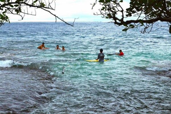 La mer est le meilleur endroit pour s'évader.