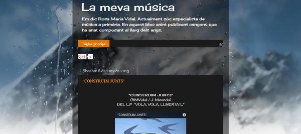 """BLOC """"LA MEVA MÚSICA"""""""