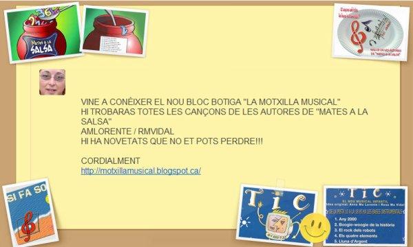"""LA BOTIGA DE """"LA MOTXILLA MUSICAL"""""""