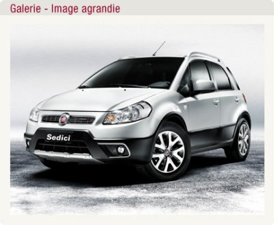 fiat sedici garage deleau fiat lancia kia et occasion. Black Bedroom Furniture Sets. Home Design Ideas