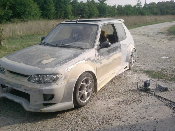 projet  205 gti tuning