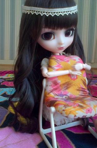 Louna a une nouvelle wig ;)