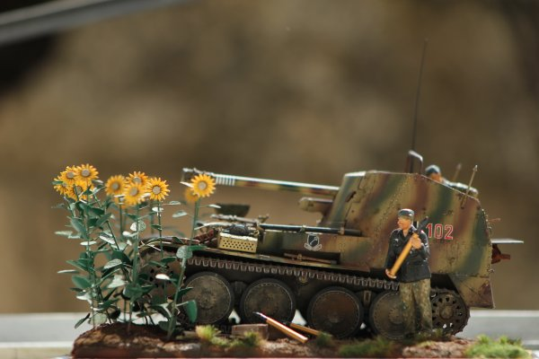 Cammouflage en Normandie.
