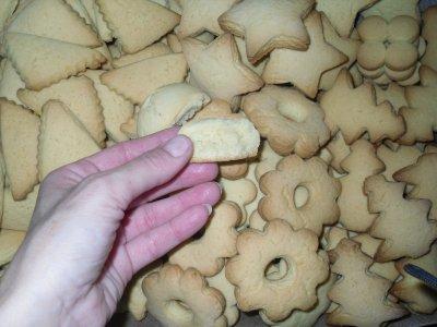 Biscotti Di Natale 1 Uovo.Biscotti Di Frolla Con 8 Tuorli E 1 Uovo Intero Biscotti Natalizi