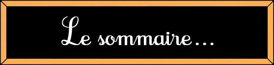 - SOMMAIRE - Summary, Sumario, Übersicht, Sommario, Conteudos, Inhoud - SOMMAIRE -