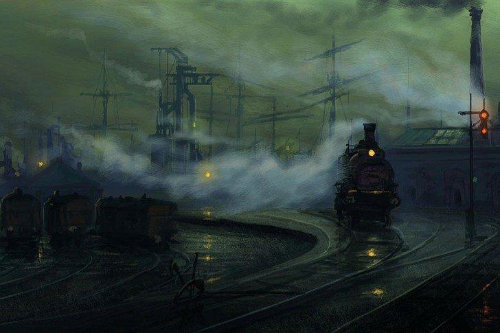Petit moment de poésie ... Le Train