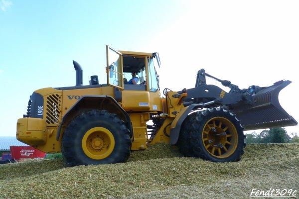 J-M Nix à l'ensilage de maïs 2011 !