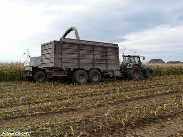 Ensilage de maïs 2011 par Otten !