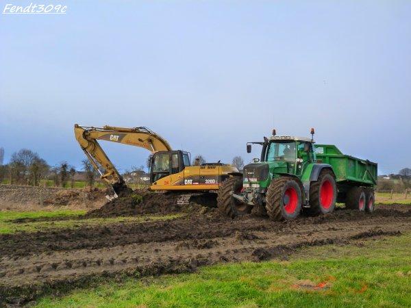 Lucas David & Jacques Deflandre & Fils au terrassement 2012 !