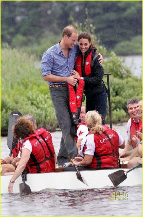 Prince William & Kate: Boat Race on Prince Edward Island!: