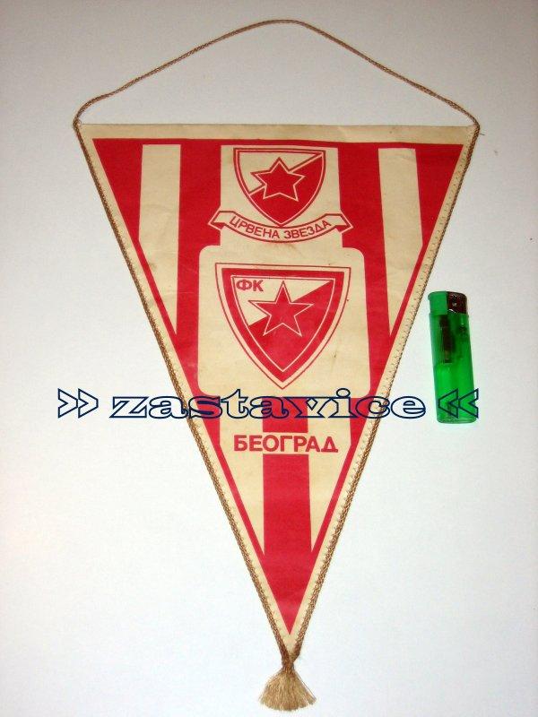 114 - velika zastavica Crvena Zvezda - Bayern M. 1991