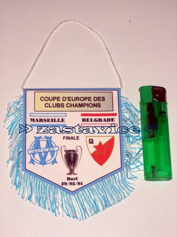 132 - finale KES Olympique Marseille - Crvena Zvezda, Bari 1991...