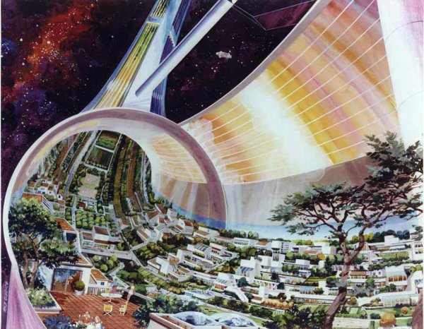 Yoshikawa (Ville spatiale) et ses lieux