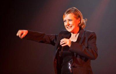 Dorthée à Bercy le 18 décembre 2010