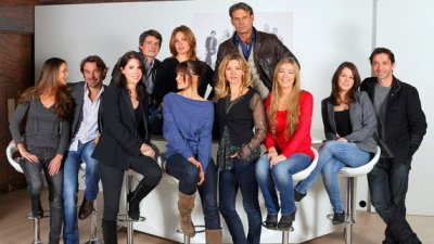 Carole,Patrick,Isabelle,Philippe,Macha,Laly,Tom,Laure,Hélène,Coralie et Sébastien