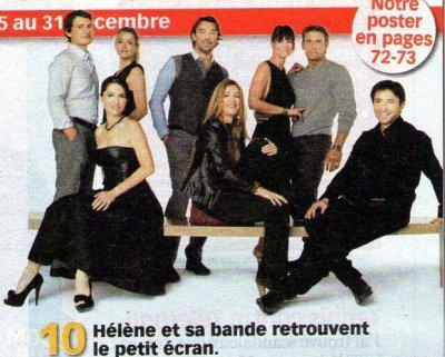 Philippe,Isabelle,Laure,Patrick,Hélène,Laly,Tom et Sébastien