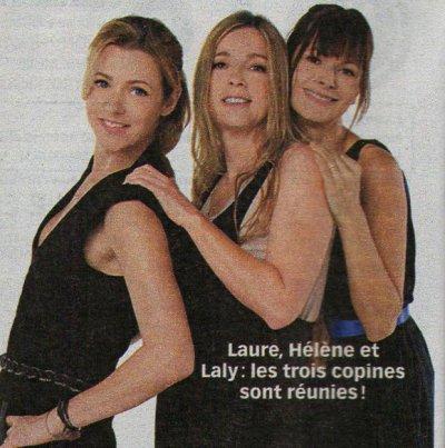 Laure,Hélène et Laly