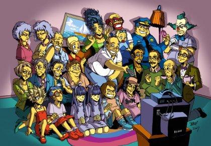 Blog De Le Bad Boy Killer Les Simpson Skyrock Com