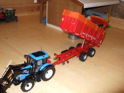 new benne et new tracteur