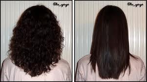 La mode des cheveux frisé lissé