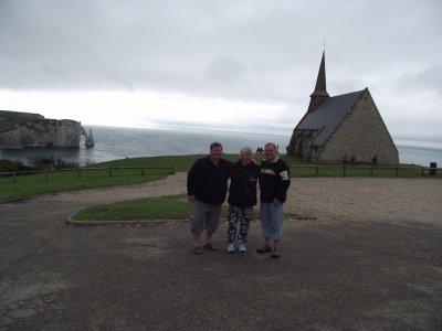 a Etretat en Normandie