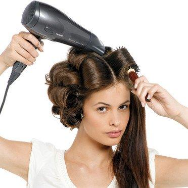 Brushing cheveux longs et fins
